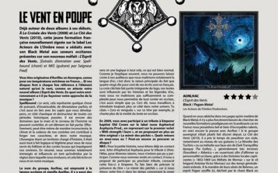 AORLHAC  entrevue complete avec METAL OBS [ French only]