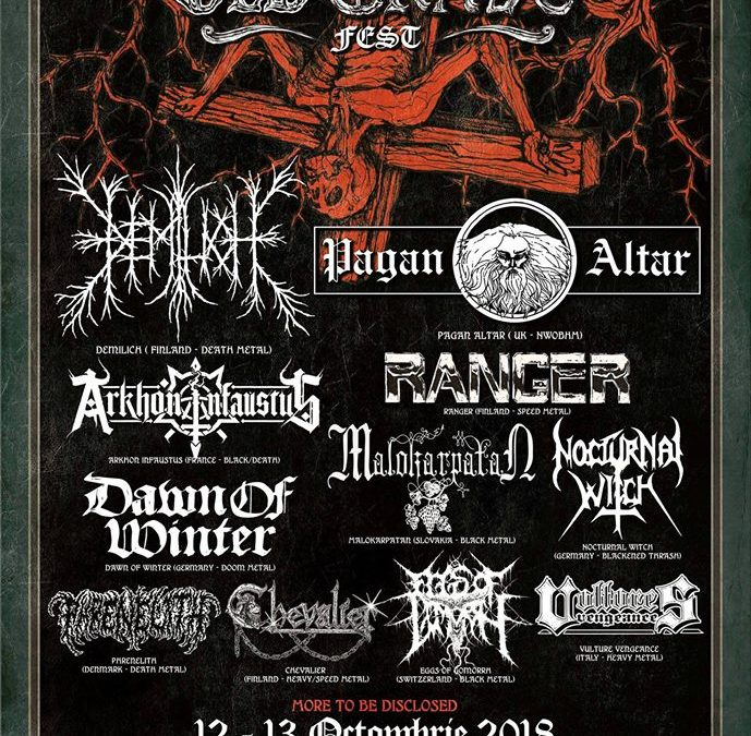 ARKHON INFAUSTUS will play at Old Grave Fest VII, Bucarest, Romania