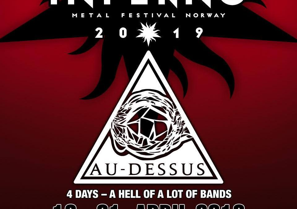 AU-DESSUS will perform at INFERNO METAL FESTIVAL in NORWAY